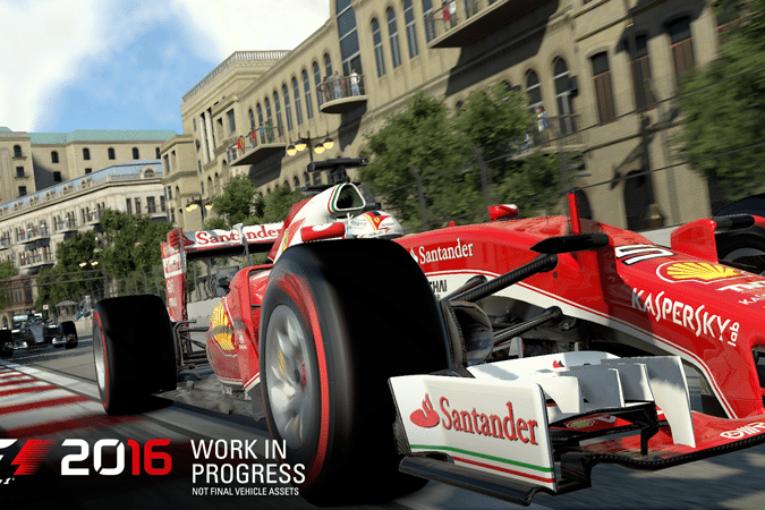Ny trailer om karriären i F1 2016