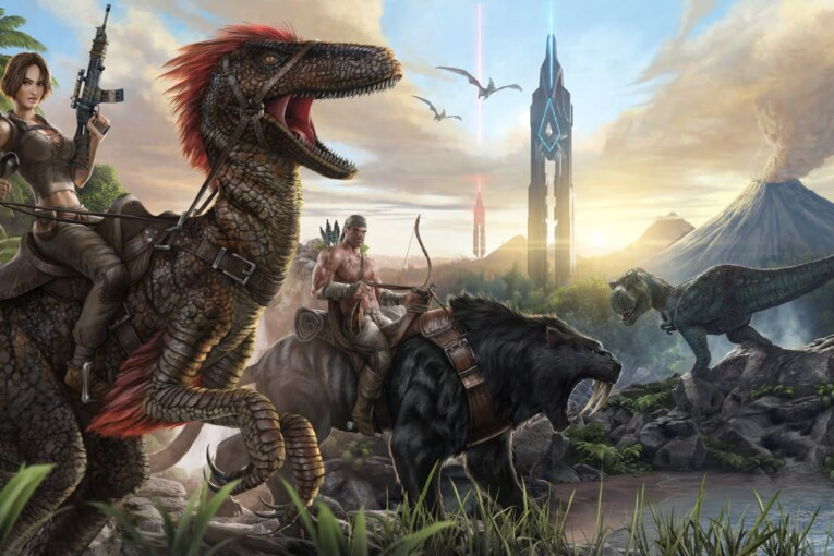 Ark: Survival Evolved är gratis i helgen.