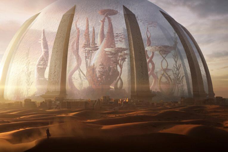 Jorden om en miljard år i Torment-trailern