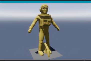 Är det här astronauten i No Man's Sky?