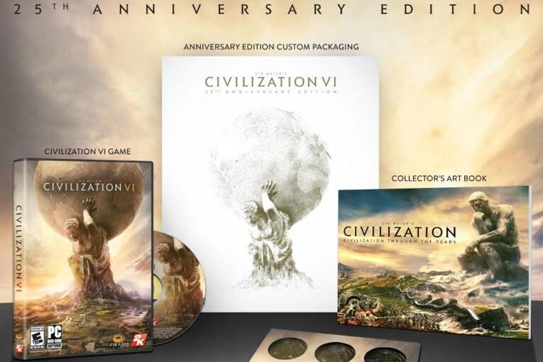 Civilization VI får lyxig jubileumsutgåva