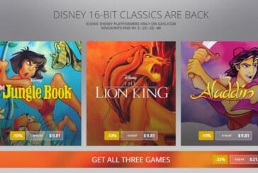 Tre Disney-klassiker når GOG