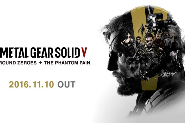 Metal Gear Solid 5 får ny utgåva