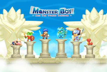Här är Monster Boy and the Cursed Kingdom