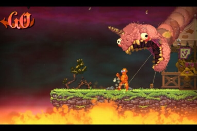 Videorecension: Nidhogg 2