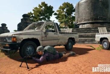 Playerunknown's Battlegrounds har fått nytt fordon och vapen