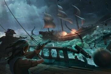 Sea of Thieves-film visar sjöslag och benrangel