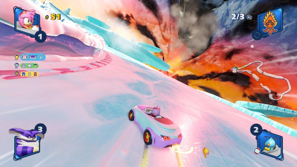 Bild från Team Sonic Racing.