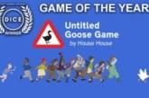 Untitled Goose Game utsågs till årets bästa spel under DICE Awards