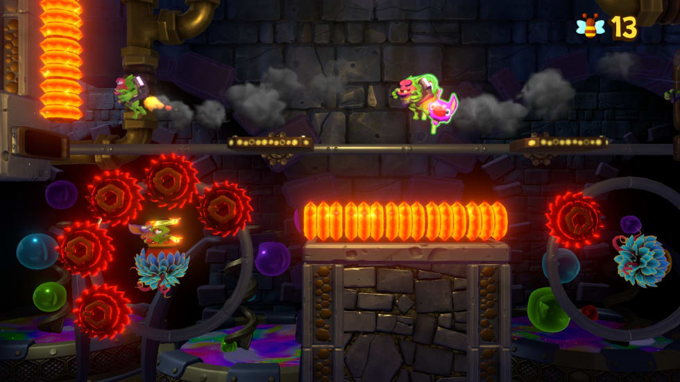 Bild från Yooka-Laylee and the Impossible Lair.