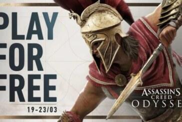 Provspela Assassin's Creed Odyssey hela helgen