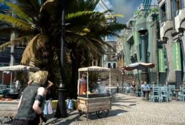 Spana in Final Fantasy XV i 4K