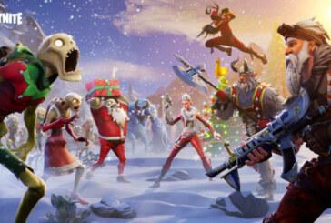 Nya Fortnite-uppdateringen är ute nu, julfirandet inleds imorgon