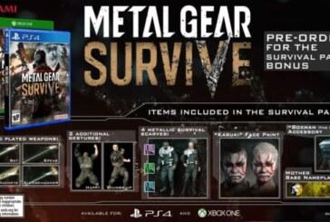 Metal Gear Survive släpps den 22 februari