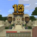 Minecraft firar 10 år med enorm, interaktiv nöjespark!