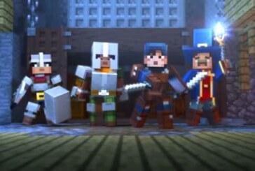 Minecraft Dungeons visar upp sig i ny gameplay-demo