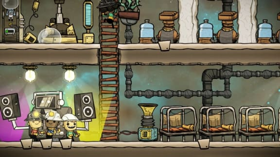 Bild från Oxygen Not Included.