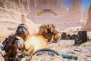 Spana in Mass Effect: Andromedas strider och vapen i ny video