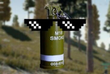 PUBG-spelare har upptäckt att man kan *dubbelkollar anteckningar* surfa på rökgranater