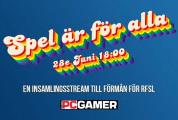 Välgörenhetsstream med PC Gamer!