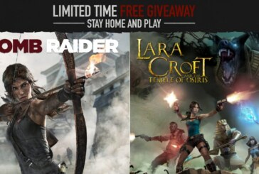 Tomb Raider och Lara Croft and the Temple of Osiris ges bort gratis