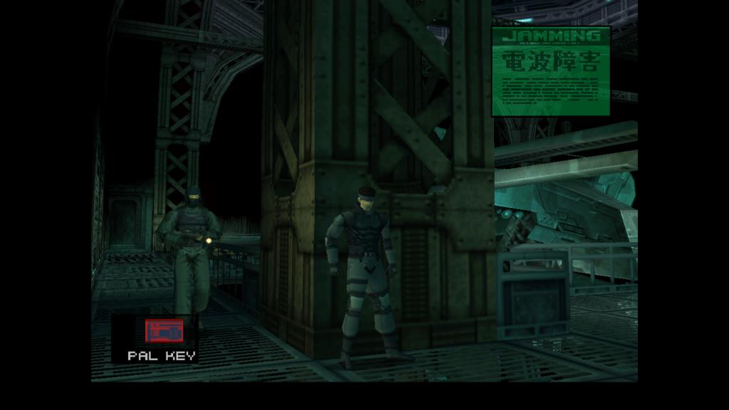 Bild från Metal Gear Solid.