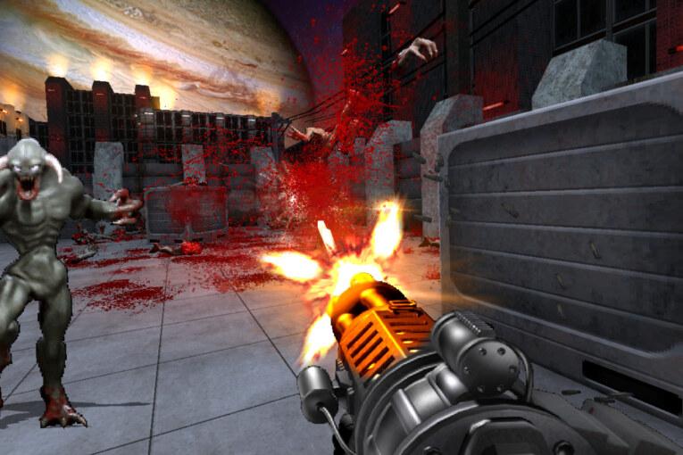 Brutal Fate är ett helt nytt fps av Brutal Doom-skaparen