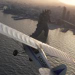 Nu kan du modda in Godzilla i Microsoft Flight Simulator