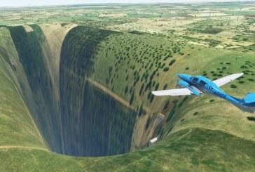 Makaber, övernaturlig klyfta har hittats i Microsoft Flight Simulator