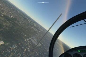 Mäktig Microsoft Flight Simulator-skyskrapa resultatet av skrivfel