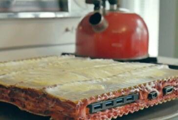 Youtubare byggde pc av pasta, och den fungerar!
