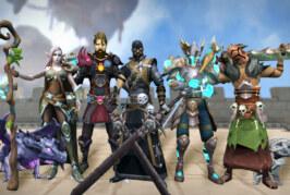 Klassiska massiva onlinerollspelet Runescape kommer  till Steam!