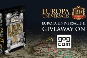 Europa Universalis firar 20 år, tvåan skänks bort via GOG