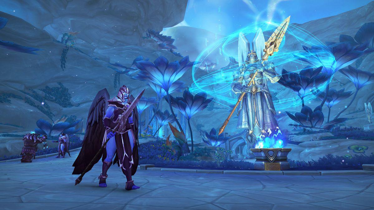 Bild från World of Warcraft Shadowlands.