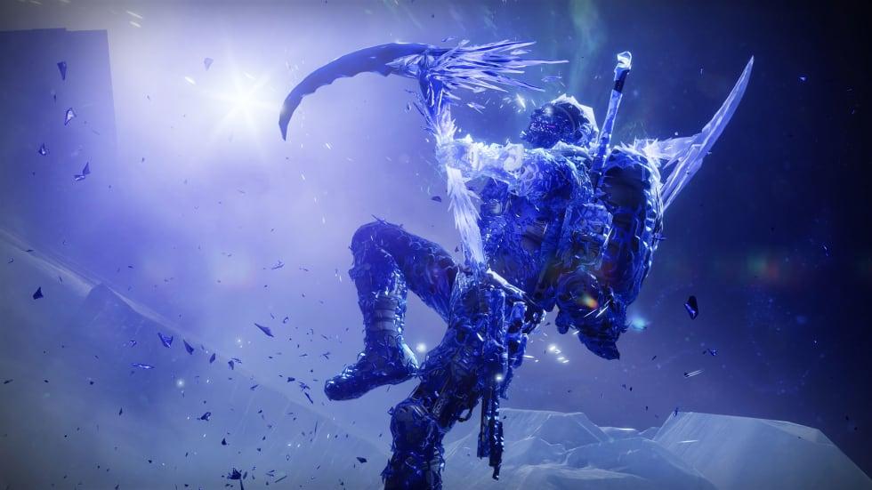 Bild på Hunter Revenant i Destiny 2: Beyond Light.