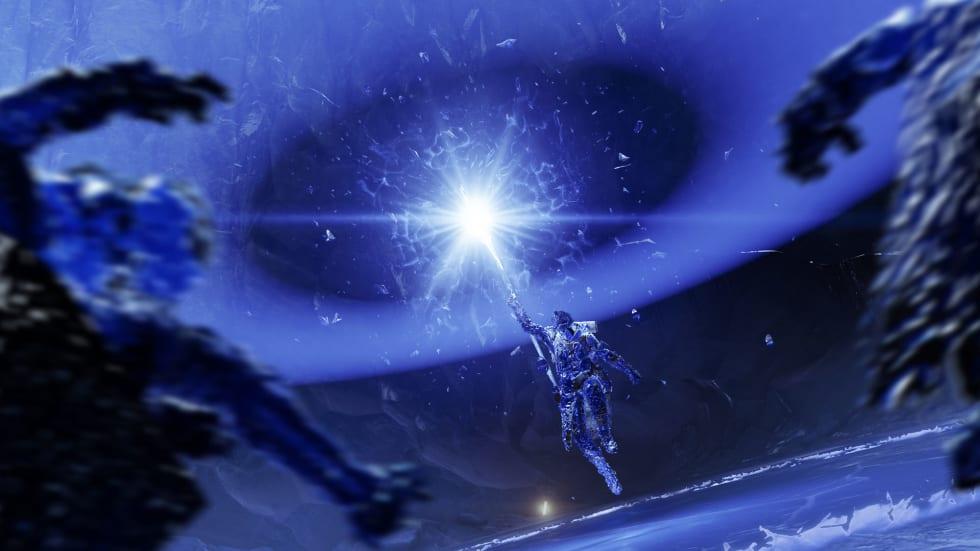 Bild på Warlock Shardbinder i Destiny 2: Beyond Light.