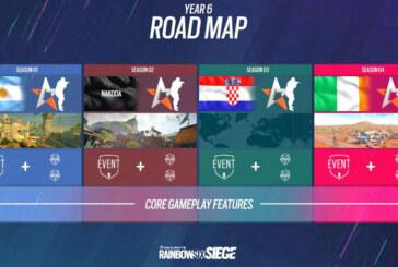 Ubisoft stakar ut färdkarta för det sjätte året med Rainbow Six Siege